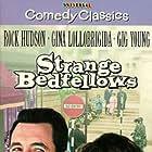 Rock Hudson and Gina Lollobrigida in Strange Bedfellows (1965)