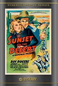 Roy Rogers and Lynne Carver in Sunset on the Desert (1942)