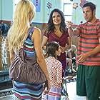 Salma Hayek, Adam Sandler, April Rose, and Alexys Nycole Sanchez in Grown Ups 2 (2013)