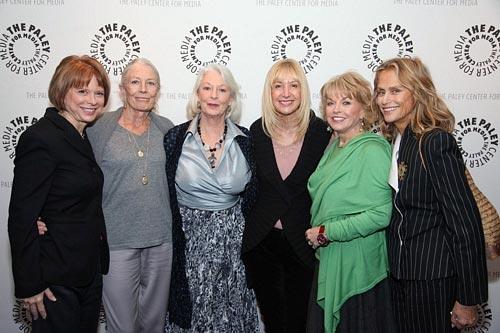 Christy Carpenter, Vanessa Redgrave, Jane Alexander, Linda Yellen, Pat Mitchell, and Lauren Hutton