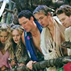 Matthew Lillard, Seth Green, Rachel Blanchard, Christina Moore, and Dax Shepard in Without a Paddle (2004)