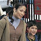 Jennifer Lopez and Tyler Posey in Maid in Manhattan (2002)
