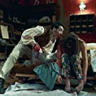 Taika Waititi and Madeleine Sami in What We Do in the Shadows (2014)