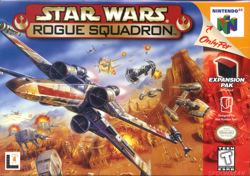 Best N64 Games - Rogue Squadron