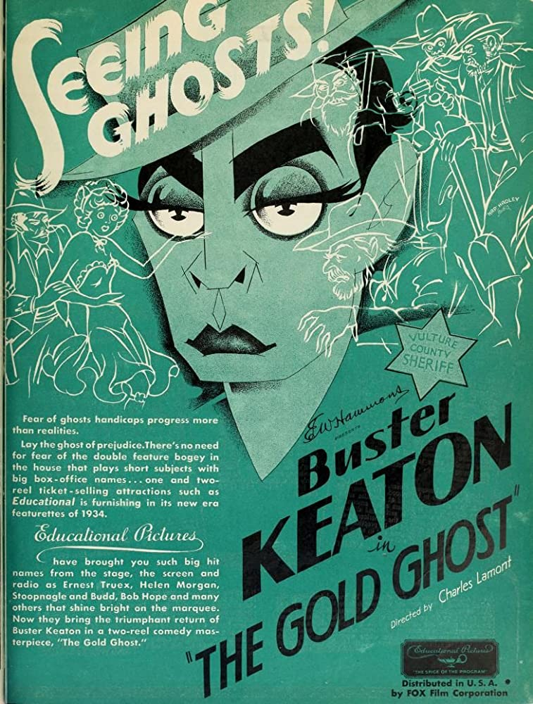 Buster Keaton in The Gold Ghost (1934)