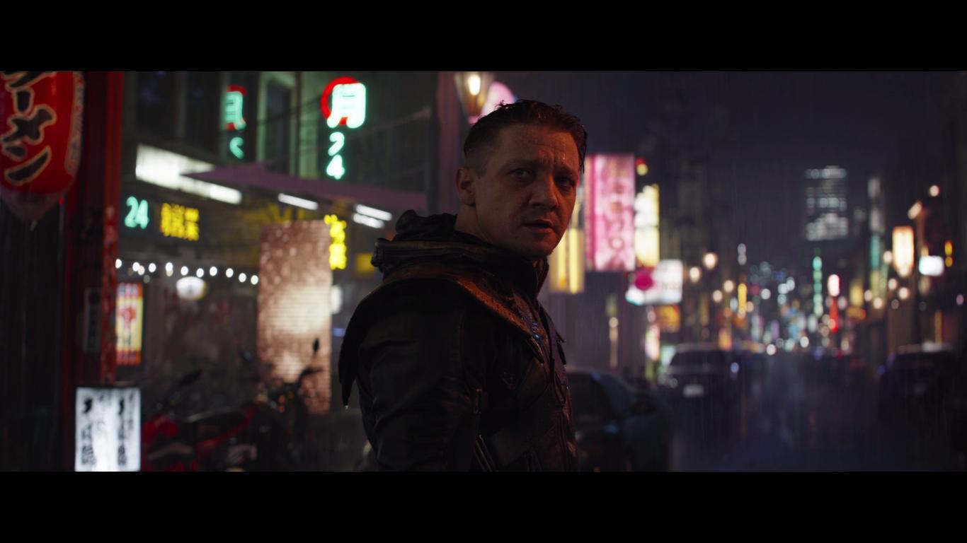 Hawkeye/Ronin.