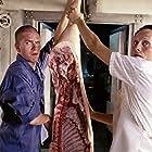 Nikolaj Lie Kaas and Mads Mikkelsen in De grønne slagtere (2003)