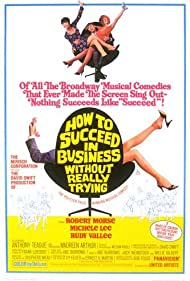 Maureen Arthur, Michele Lee, and Robert Morse in How to Succeed in Business Without Really Trying (1967)