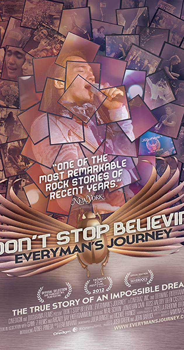 Subtitle of Don't Stop Believin': Everyman's Journey