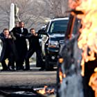Colm Meaney, Jamie Foxx, Michael Irby, and Brian Distance in Law Abiding Citizen (2009)