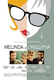 Will Ferrell, Chiwetel Ejiofor, and Radha Mitchell in Melinda and Melinda (2004)