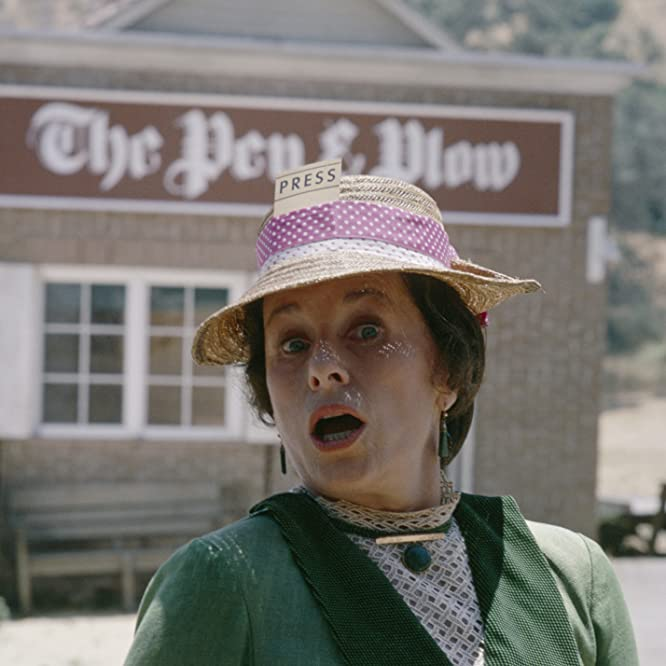 Katherine MacGregor in Little House on the Prairie (1974)
