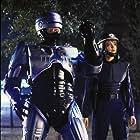 Nancy Allen and Peter Weller in RoboCop 2 (1990)