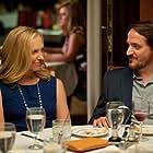 Toni Collette and Ben Falcone in Enough Said (2013)
