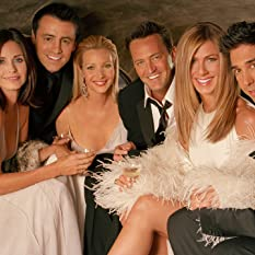 Jennifer Aniston, Courteney Cox, Lisa Kudrow, Matt LeBlanc, Matthew Perry, and David Schwimmer in Friends (1994)