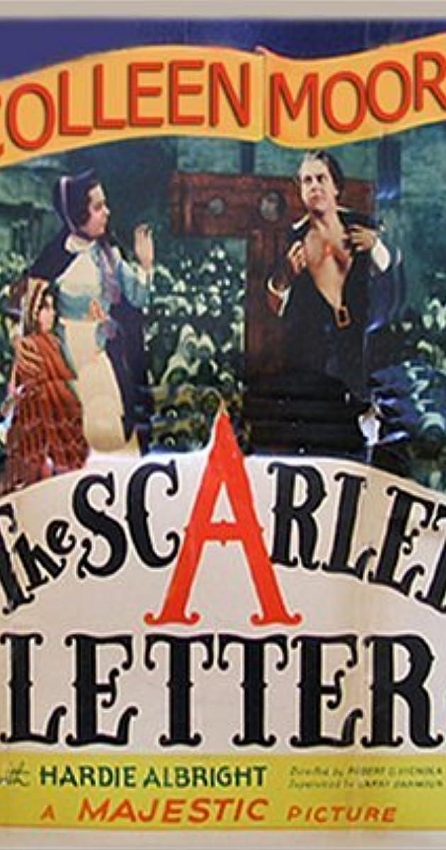 The Scarlet Letter (1934)   IMDb
