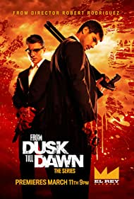Zane Holtz and D.J. Cotrona in From Dusk Till Dawn: The Series (2014)