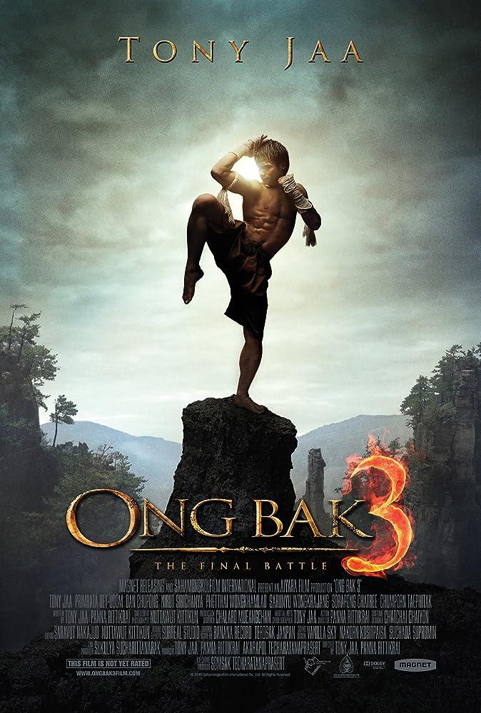 Poster Ong-bak 3