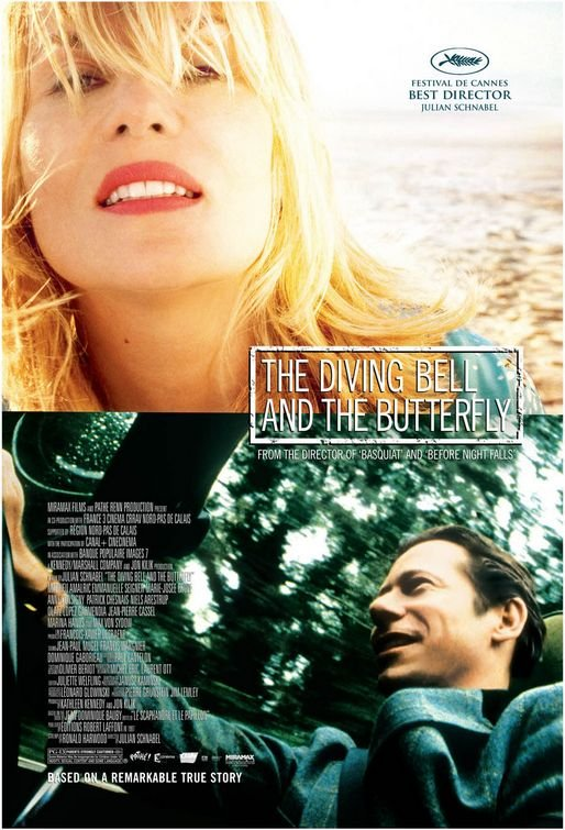 The Diving Bell and the Butterfly (2007) BluRay 480p, 720p & 1080p