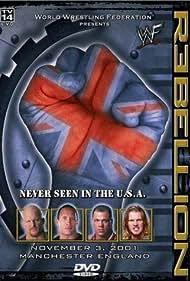 Kurt Angle, Steve Austin, Chris Jericho, and Dwayne Johnson in WWF Rebellion (2001)