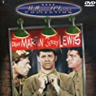 Jerry Lewis, Dean Martin, and Mike Kellin in At War with the Army (1950)