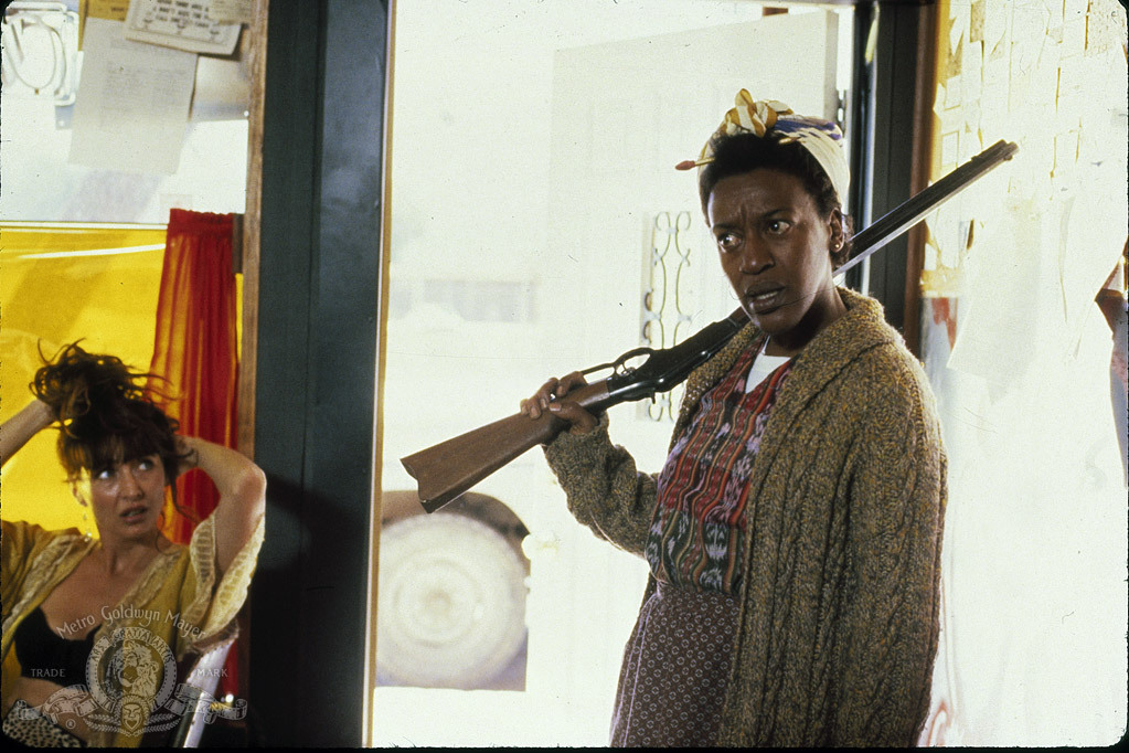 CCH Pounder and Christine Kaufmann in Out of Rosenheim (1987)