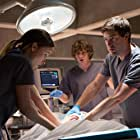 Mark Duplass, Olivia Wilde, and Evan Peters in The Lazarus Effect (2015)