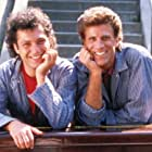 Ted Danson and Howie Mandel in A Fine Mess (1986)