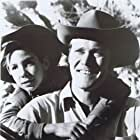 Connors and Crawford as the widower Lucas McCain and his young son, Mark, during a sunny day in North Fork.