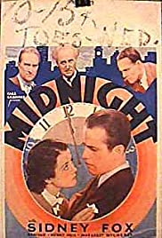 Midnight (1934) Poster - Movie Forum, Cast, Reviews