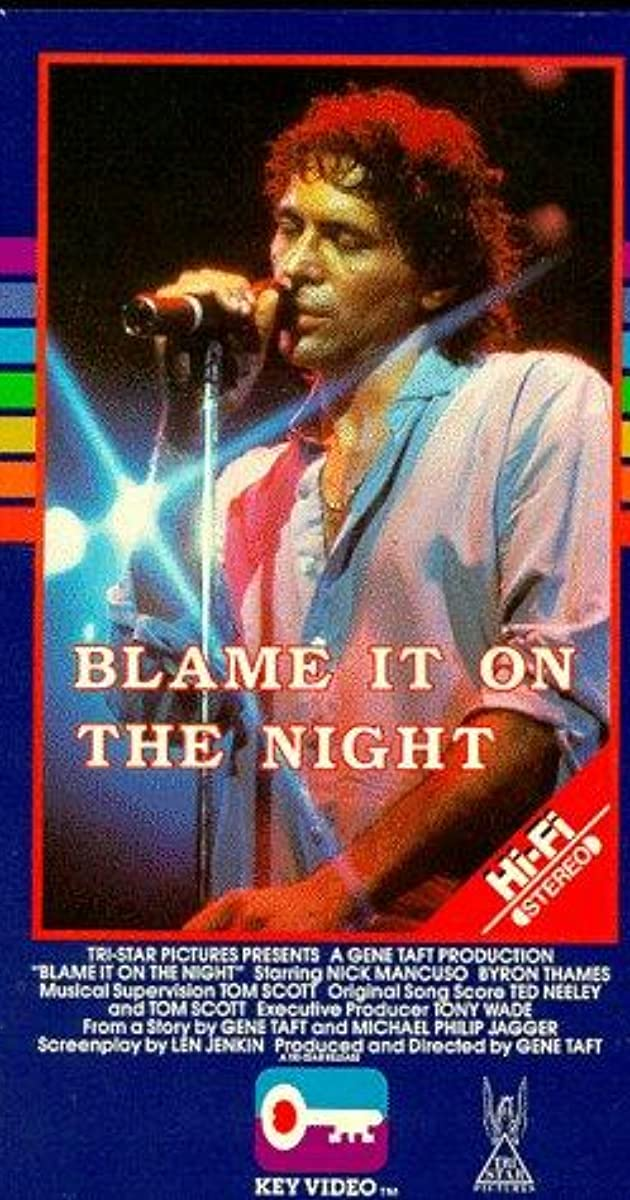 blame it on the night 1984 soundtrack