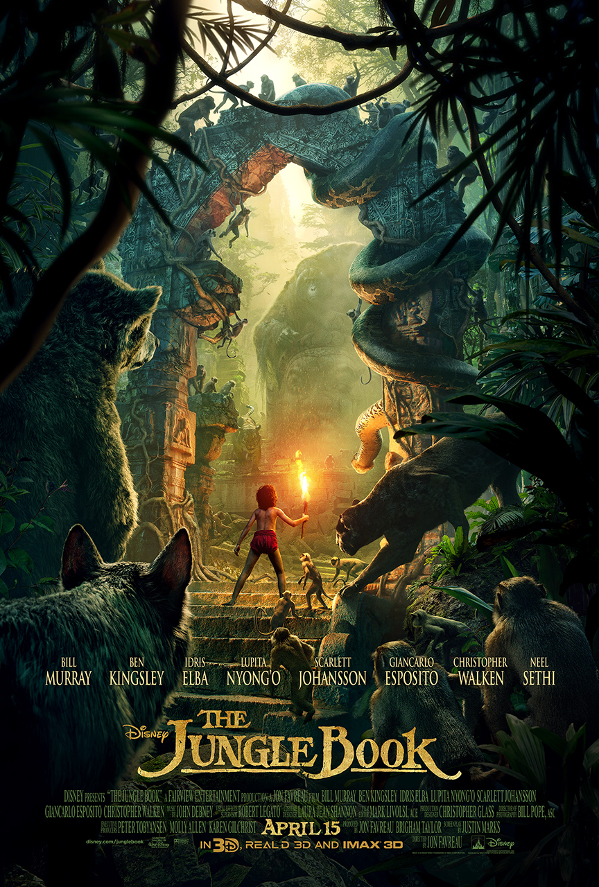 DŽIUNGLIŲ KNYGA (2016) / THE JUNGLE BOOK