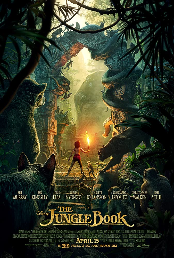 The Jungle Book 2016 Hindi 350MB Full Movie Download BluRay (Hindi – English)