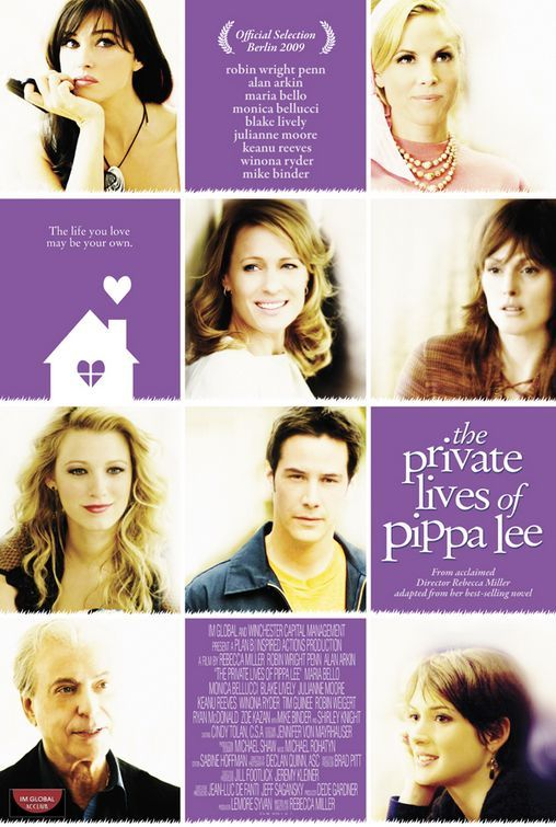 Julianne Moore, Keanu Reeves, Winona Ryder, Robin Wright, Monica Bellucci, Maria Bello, and Blake Lively in The Private Lives of Pippa Lee (2009)