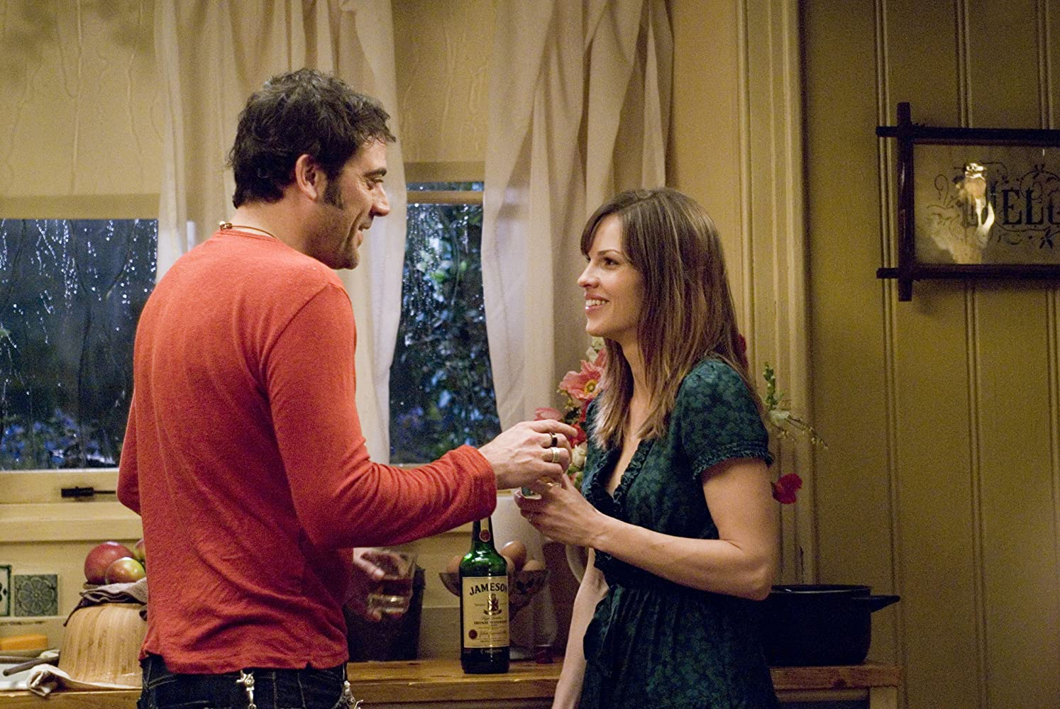 Hilary Swank and Jeffrey Dean Morgan in P.S. I Love You (2007)