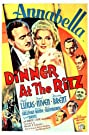 Dinner at the Ritz (1937) Poster