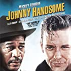 Morgan Freeman and Mickey Rourke in Johnny Handsome (1989)