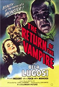 Watch now movie The Return of the Vampire USA [2048x2048]
