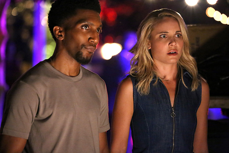 Yusuf Gatewood and Leah Pipes in The Originals (2013)