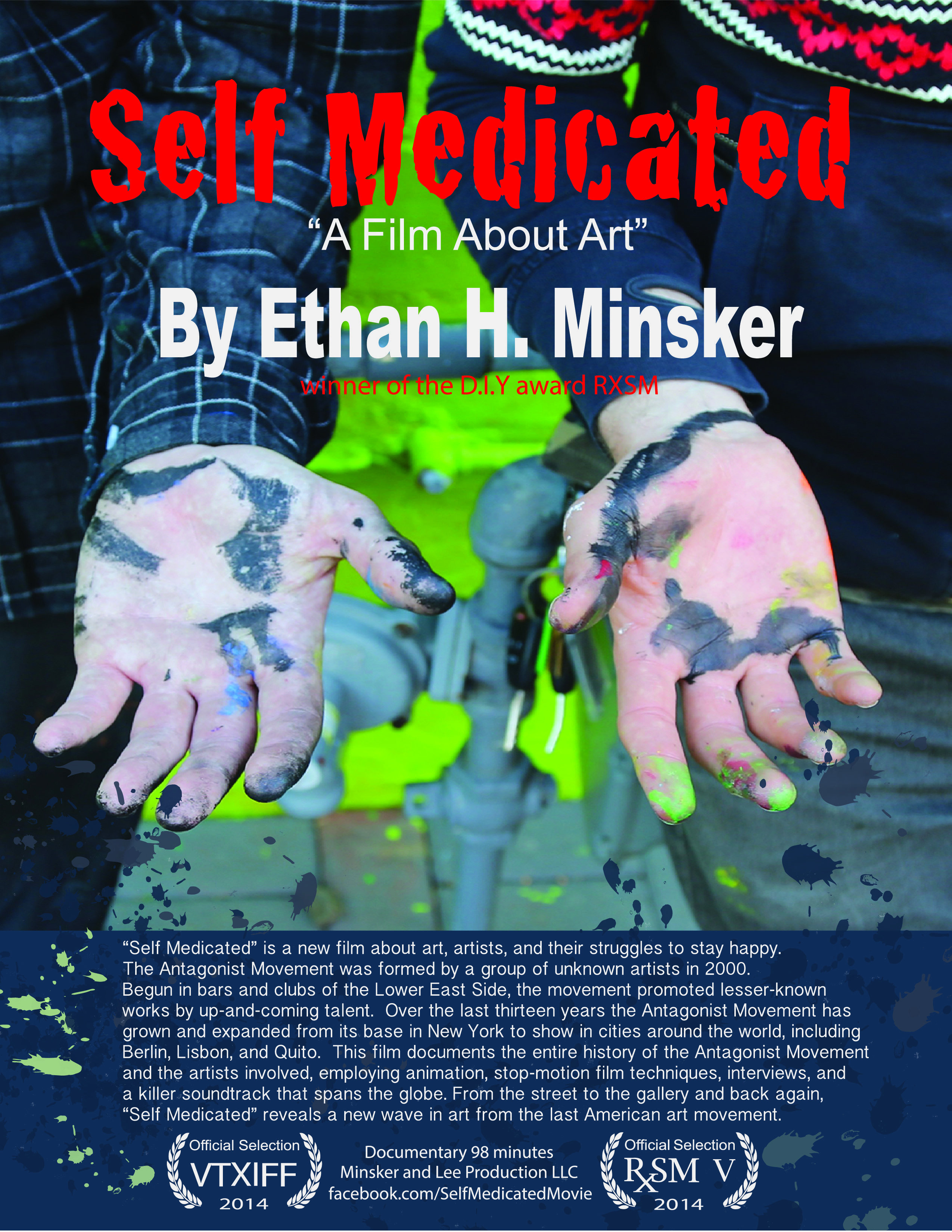 Self Medicated a Film About Art on FREECABLE TV
