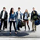Still of Ryan Donowho, Jessica Lowndes, Landon Liboiron, Julianna Guill and Jake Weary in Altitude