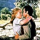 Jane Fonda and Michael Callan in Cat Ballou (1965)
