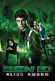 Ryan Kelley and Galadriel Stineman in Ben 10: Alien Swarm (2009)