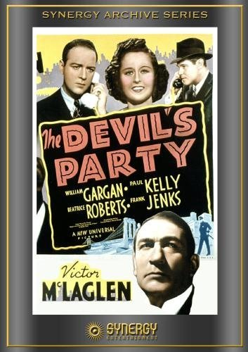William Gargan, Paul Kelly, Victor McLaglen, and Beatrice Roberts in The Devil's Party (1938)