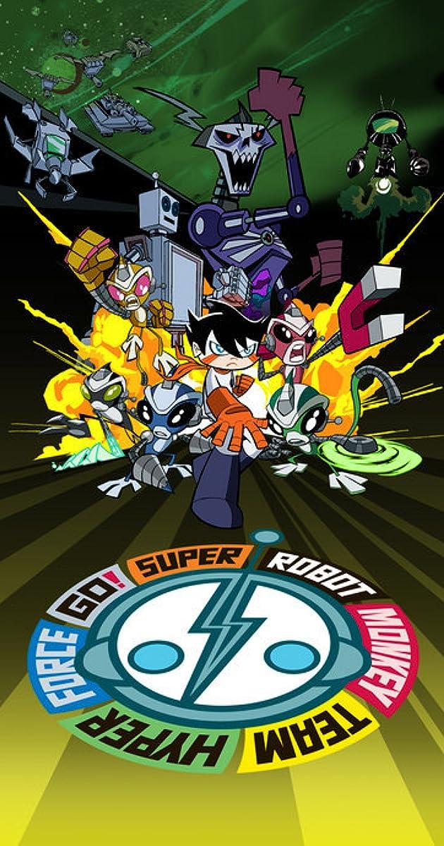 Super Robot Monkey Team Hyperforce Go! (TV Series 2004–2006