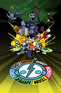 Watching a 3d movie Super Robot Monkey Team Hyperforce Go! [DVDRip]