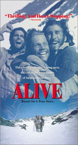 Jack Noseworthy, David Kriegel, and John Newton in Alive (1993)