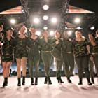 Anna Kendrick, Brittany Snow, Rebel Wilson, Anna Camp, Hana Mae Lee, Chrissie Fit, Hailee Steinfeld, Ester Dean, Kelley Jakle, and Shelley Regner in Pitch Perfect 3 (2017)