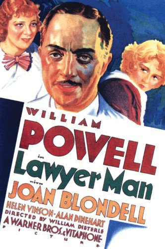 Joan Blondell, William Powell, and Helen Vinson in Lawyer Man (1932)