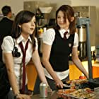 Shannon Woodward and Haley Bennett in The Haunting of Molly Hartley (2008)